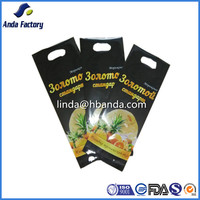 Plastic packaging bag Hand hold Bag For ice cream