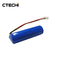 High Energy Lithium Battery Size AA 3.6 Volts 2.4Ah ER14505 with wires