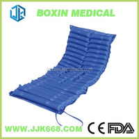 Medical inflatable air mattress with pump