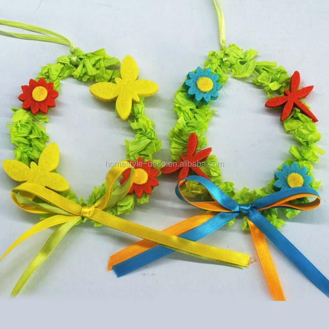 Easter decoration easter ornament easter mini wreath 10cm mini wreath