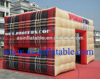 hottest sale and attractive inflatable cube tent