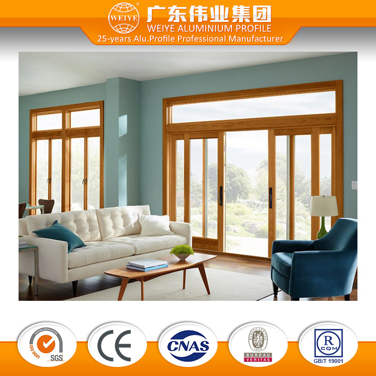 Aluminum Glass Sliding Window And Patio Door Price For Sale
