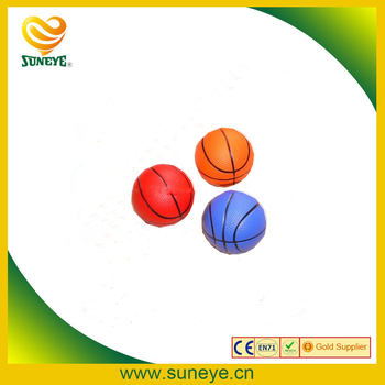 cheapest colorful pu foam basketball stress balls