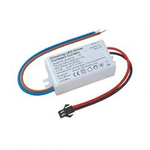 110V 220V AC 6-15V DC 500ma led driver for bulb light 7W triac dimming led driver