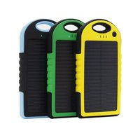 Outdoor Portable 5000mAh mobile Solar charger