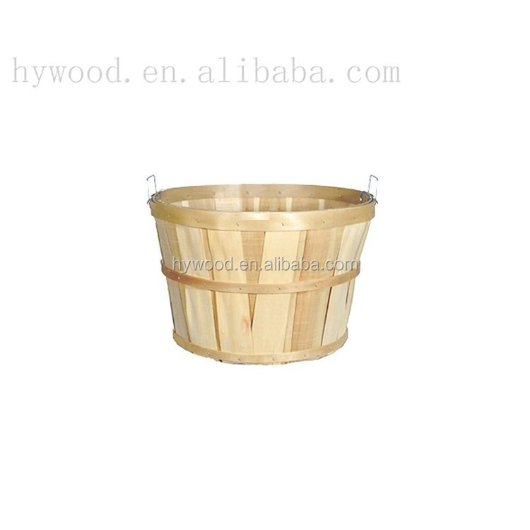food safe eco friendly environmental custom cheap chip picnic strawberry berry fruit apple wooden disposable basket wholesale