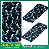 3D Sublimation Phone Case, For Cell Phone Case Iphone 5s Cover Design,Printing Plastic Mobile Phone Cover