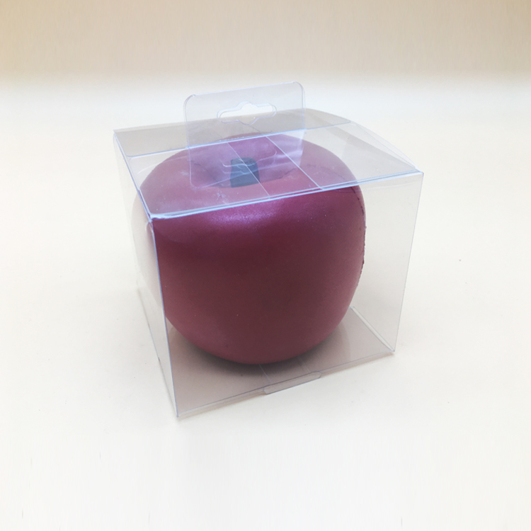 Low price plastic transparent box folding PVC PET Box for gift package