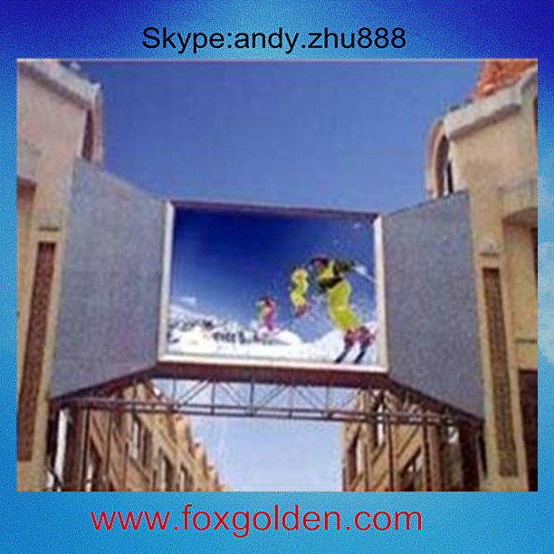 P6 video one outdoor advertising led display ,p6 wireless video door phone led screen