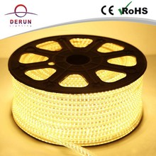Waterproof 5050&3528 flexible led strip lights 220v with 100m/roll