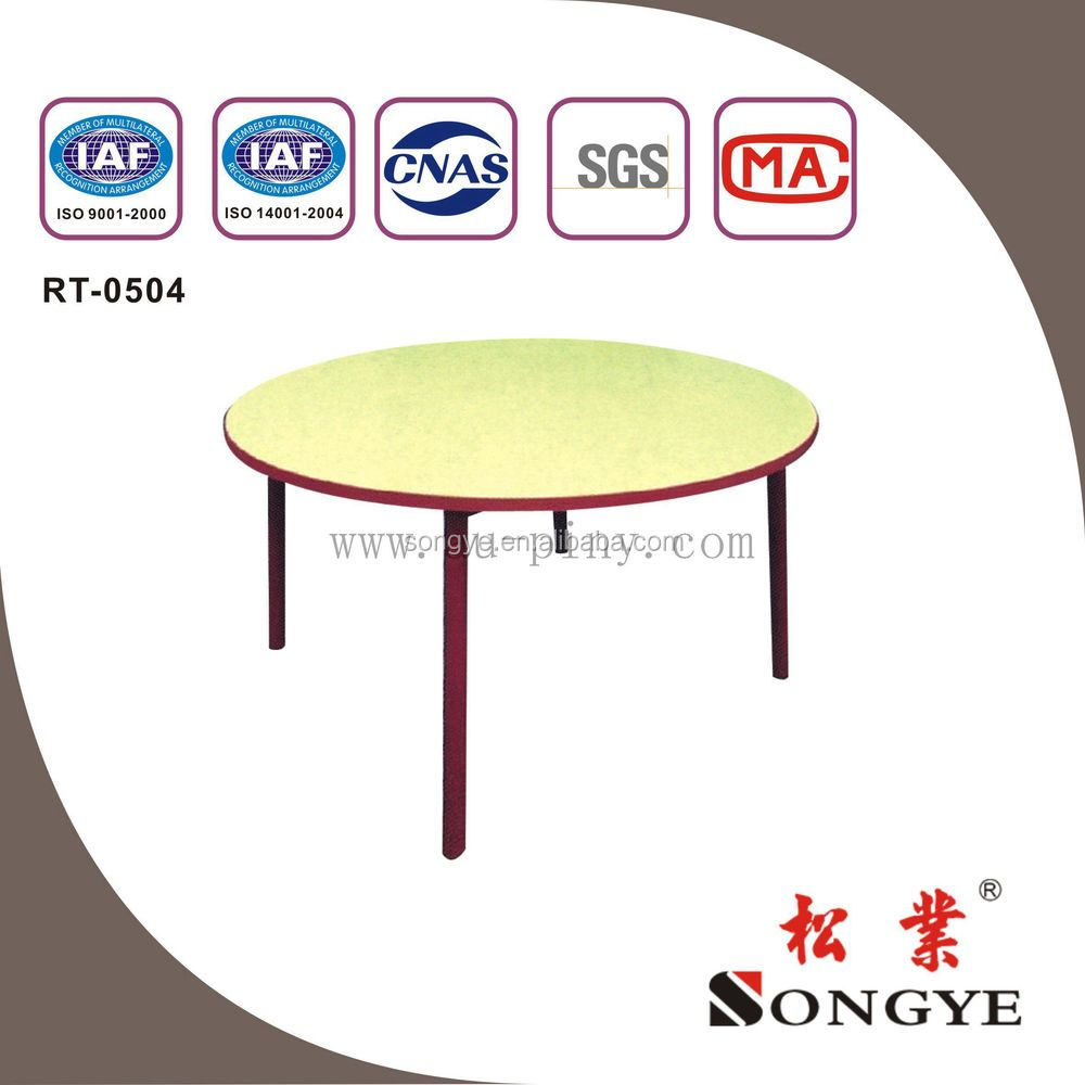 (Furniture)ROUND TABLE/SCHOOL DESK AND CHAIR/SCHOOL FURNITURE/STUDENT/STUDY