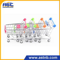Metal Shopping Cart Trolley Kids Child Gift Shopping Cart Toy