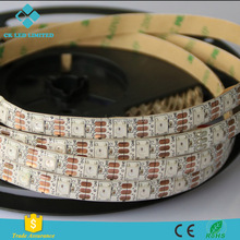 60LEDs Internal IC SK6812 RGB Dream Color LED Strip with Connector