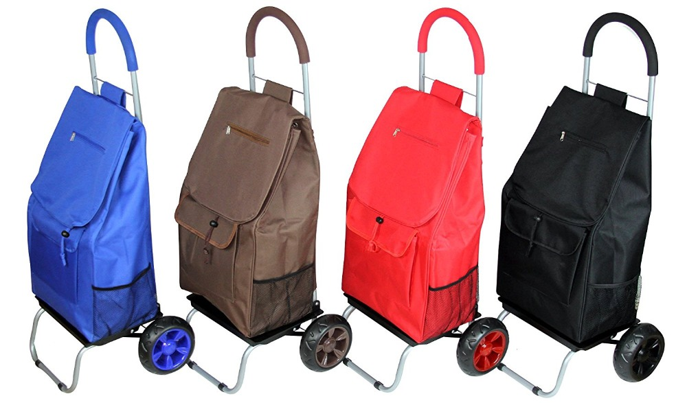 Top Design Carry-on Trolley Luggage Travel Trolley Bag,Shopping Grocery Foldable Cart,colourful travel trolley luggage bag