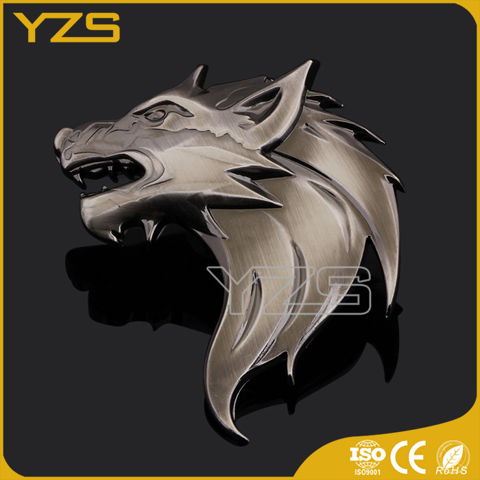 factory high quality custom metal ODM car emblem badges
