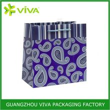 Handle customized printed target shopping bags