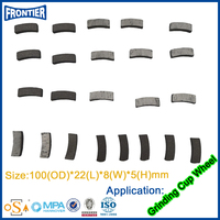 Direct Factory Price Reliable Quality welded segment diamond cup wheel