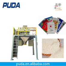 Open mouth bag rice bag 50kg packing filling machine