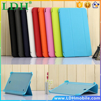 top Case Business Folding Flip Slim Smart Leather Case BOOK Cover for Samsung Galaxy Tab 4 8.0 T330 T331 T335,4 in 1