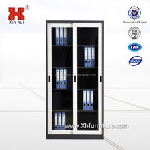 Glass door display cabinet with adjustable shelves/Lockable glass door key cabinet