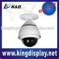 Mini Security CCTV Speed Dome PTZ Camera 10X optical zoom