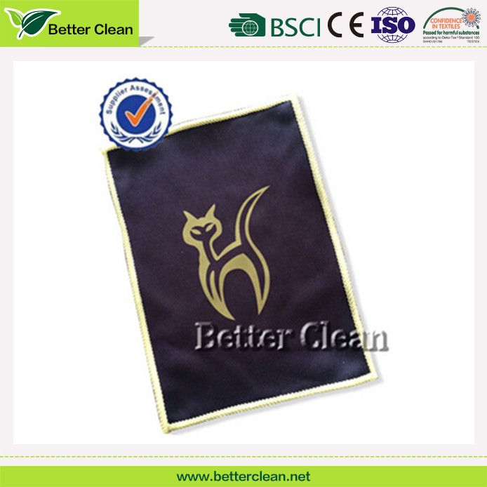 Microfiber fabric wipe quick dry for touch screen cloth