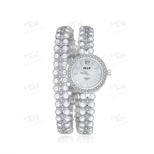 Charming design luxury watches, branded watch with pearl