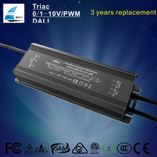 ul 80w dali dimming constant current led driver waterproof led power supplier importer with ce etl saa rohs listed