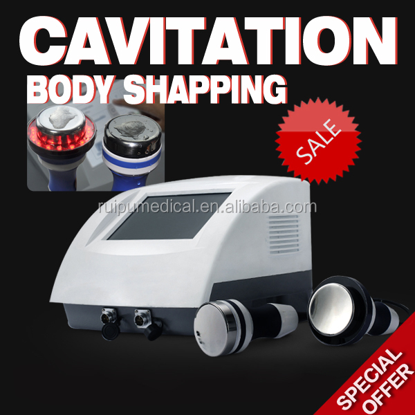 Ultrasonic liposuction cavitation slimming, vacuum ultra body shaping cosmetic machine
