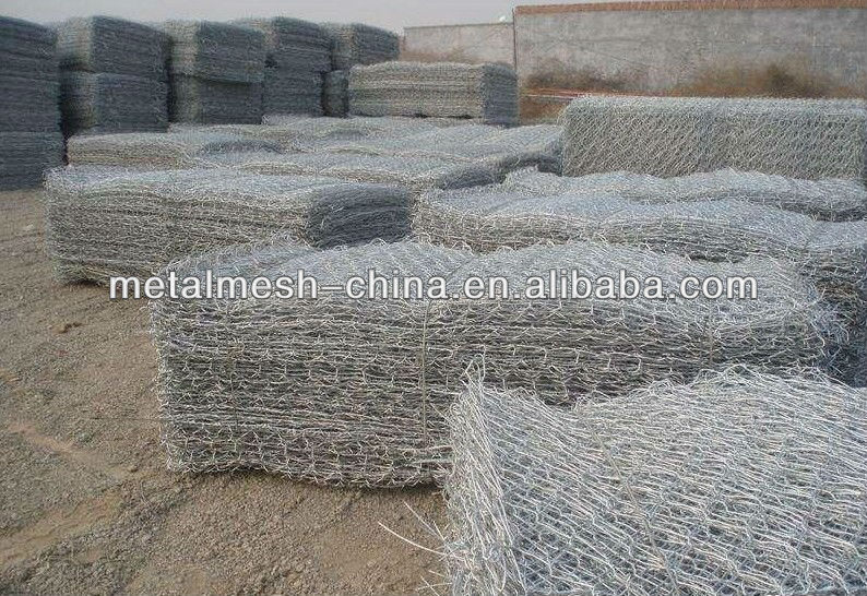 Stone cages,Gabions cages/gabions basket/ PVC plastic stone wall