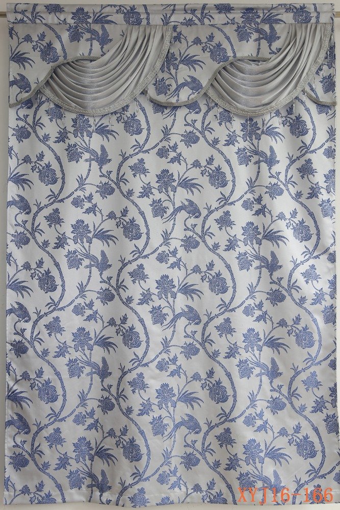 Home decor dressing room yarn dyed valance curtain for sale