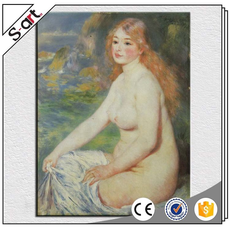 Different styles customized design nude female body oil painting