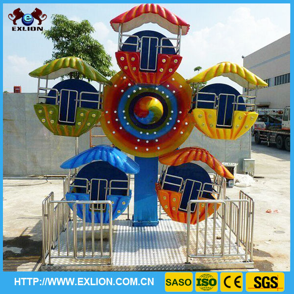 Funny interesting indoor & outfoor playground equipment kiddie ferris wheels for sale