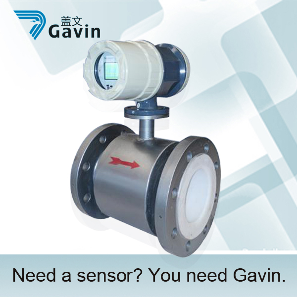 pvc water magnetic flow meter GMF103