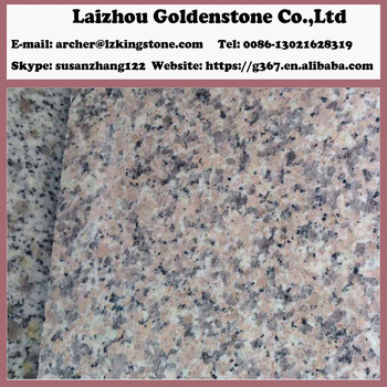 Facing stone cherry flower red granite stone