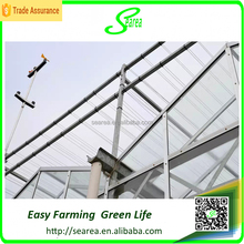 Galvanized steel Frame Polytunnel Greenhouse