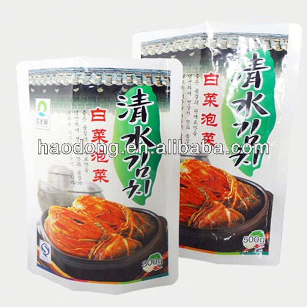 Chilli Sauce Packaging Bag by China Supplier