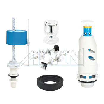 Closestool accessory water tank repair system push button filling valve toilet flush valve