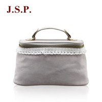 Popular cosmetic bag with lace decoration/Storage bag