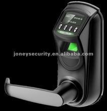 All in one security fingerprint door lock for double tongue L7000