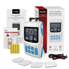 tens unit + EMS+ massager 3 In 1 combo Household handheld physiotherapy equipment