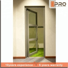 Latest technology used commercial glass door single glass frameless glass entrance partition doors design