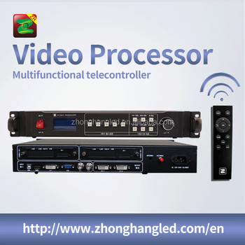 Full Color LED Display Video Processor With Remote-controller Support 500 Meters Wireless Control Through The Wall