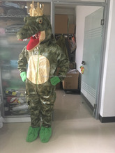 adult plush crocodile costume,fancy dress