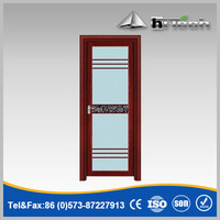 Vintage Style Wooden Frame Single Glass Door