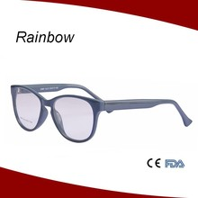 PC eyewear reading glasses with round metal core