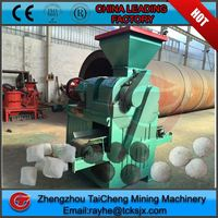 The wet coal powder briquetting press machine From Taicheng machine factory