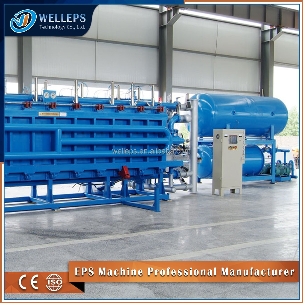 Welleps high quality eps polystyrene block molding machine for eps insulation panel