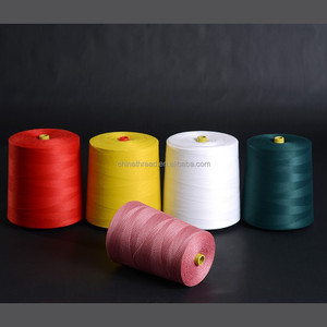 cChinese supplier 100% polyester spun sewing thread 40s/2