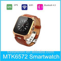 Wholesale OEM GPS WIFI Bluetooth Android4.4 GSM mobile watch phone 3g